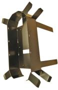 Kveileramme  m/2 stolpefester for skjøteboks A96 og FOSC A8