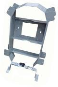 Kveileramme  m/2 stolpefester for skjøteboks D576 og FOSC D5