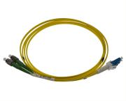 Fibersnor SM FC/APC - LC/UPC