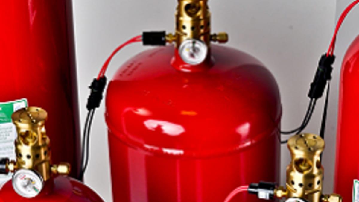Brannslukking- Lagersalg