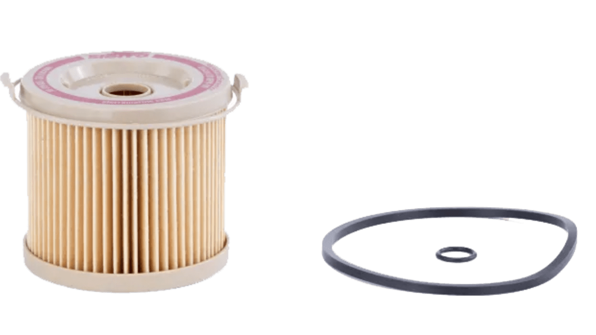 Erstatning for Racor filtre