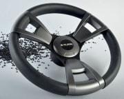 Gussi ratt, modell 013, sort m/ grått