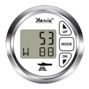 Faria dybdemåler m/ luft/vann temperatur