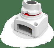 Seaflo batteribryter f/ 1 batteri, hvit