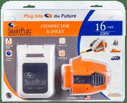 SmartPlug kit, innt+plugg, Hvitt 16A