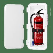Boks for brannslukker
