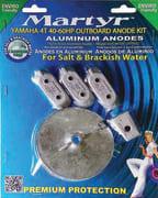 Anodesett Yamaha 40-60 Hk 4 Takt, Alu