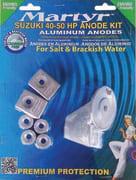 Anodesett til Suzuki/BRP 40-50 Hk