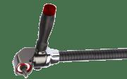 Fleksibel vinkeltrekker for drill