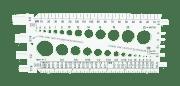 Måleverktøy for gjenger, boltstørrelse, hull mm