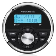 GP1 Gauge size marine bluetooth stereo
