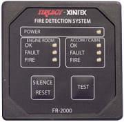 FireBoy  FR-2000 Brann alarm monitor 2 soner