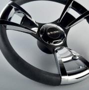 Gussi ratt, model 013 m/ Chrome innlegg