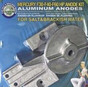 Mercury F30-F40-F60 HP Anodes KIT Al