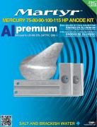 Mercury 75-80-90-100-115 Anodes KIT Al