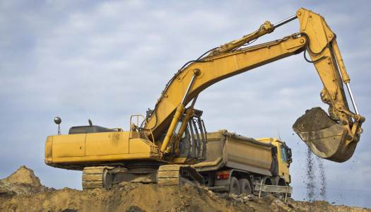 How do construction companies use GPS tracking?