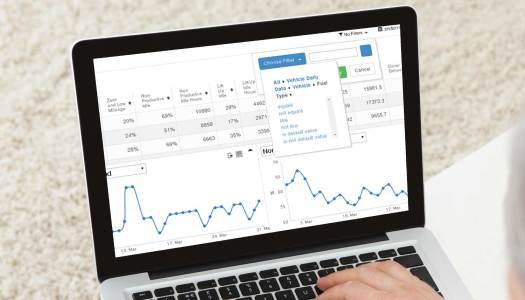 Enterprise Fleet Management Dashboard: Tame Big Data