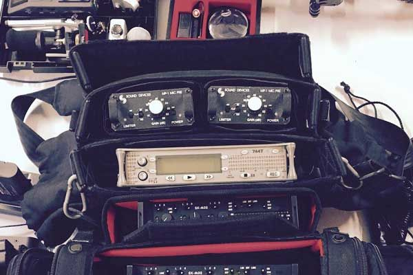 Sound Devices 744T Field Recorder for SFX Recording