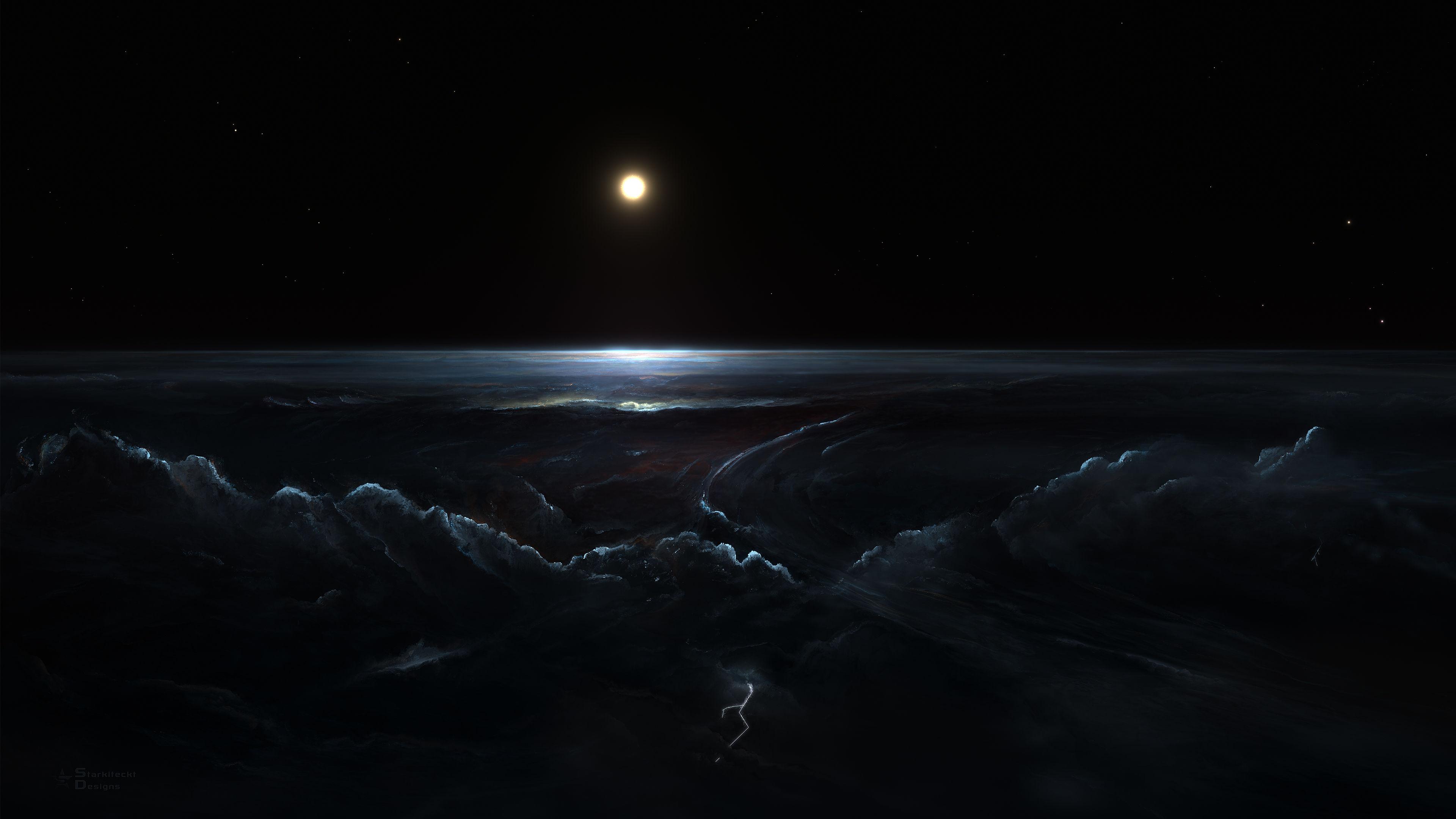 Dark Space Wallpaper: 10 Beautiful 4K Wallpapers #6