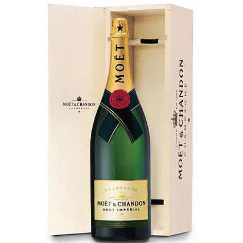 Moet et Chandon Champagne Brut Imperial (Balthazar 12L) in Wood box NV