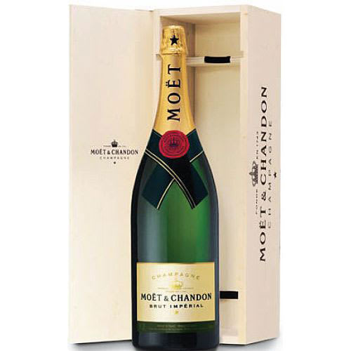 Moet et Chandon Champagne Brut Imperial (Salmanazar 9L) in Wood box NV