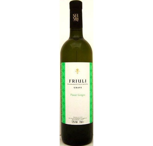 Friuli Pinot Grigio, Grave