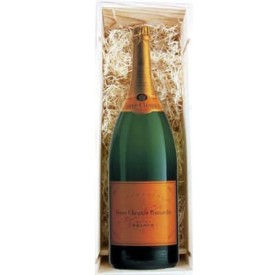 Veuve Clicquot Champagne (Methuselah) in Wood box NV