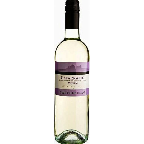 Castelbello Medium White, Catarratto Terre Siciliane