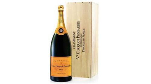 Veuve Clicquot Champagne (Balthazar 12L) in Wood box NV