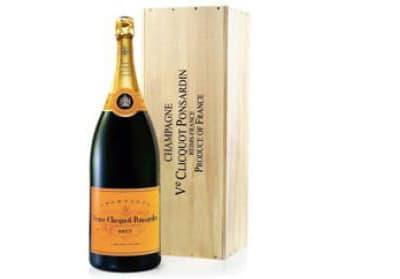 Veuve Clicquot Champagne (Salmanazar 9L) in Wood box NV