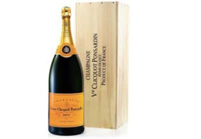 Veuve Clicquot Champagne (Nebuchadnezzar 15L) in Wood box NV