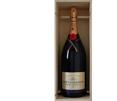Moet et Chandon Champagne Brut Imperial (Methuselah) in Wood box NV