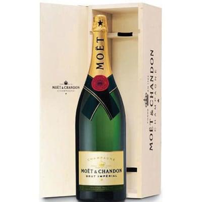 Moet et Chandon Champagne Brut Imperial (Nebuchadnezzar 15L) in Wood box NV