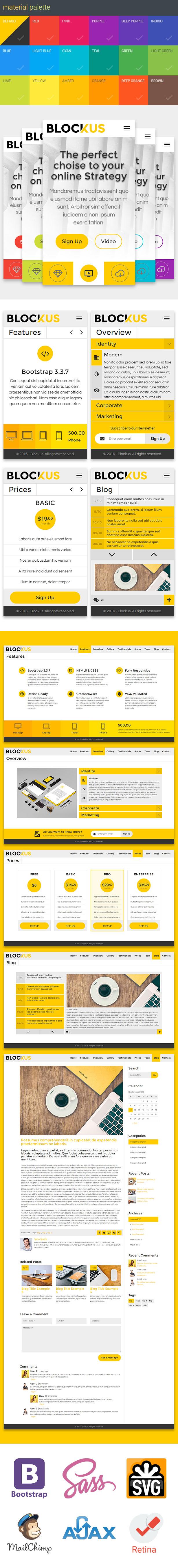 Blockus features