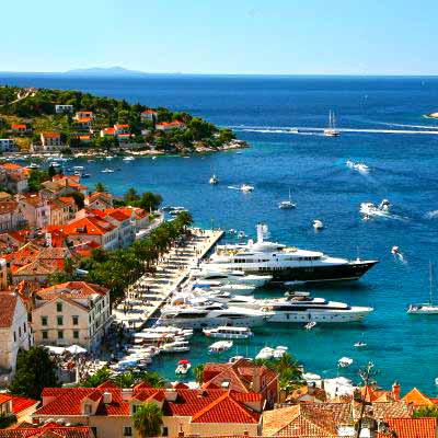 Hvar, island in Croatia
