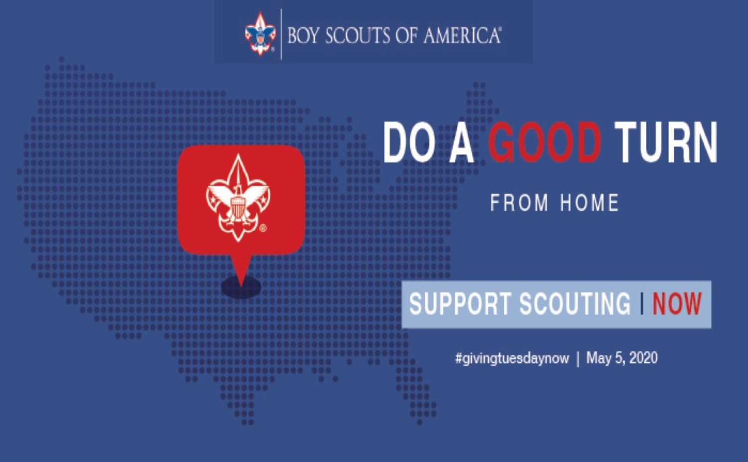 Scout Me In. Yes I want to donate in support of Robert E Knox Scout Reservation.