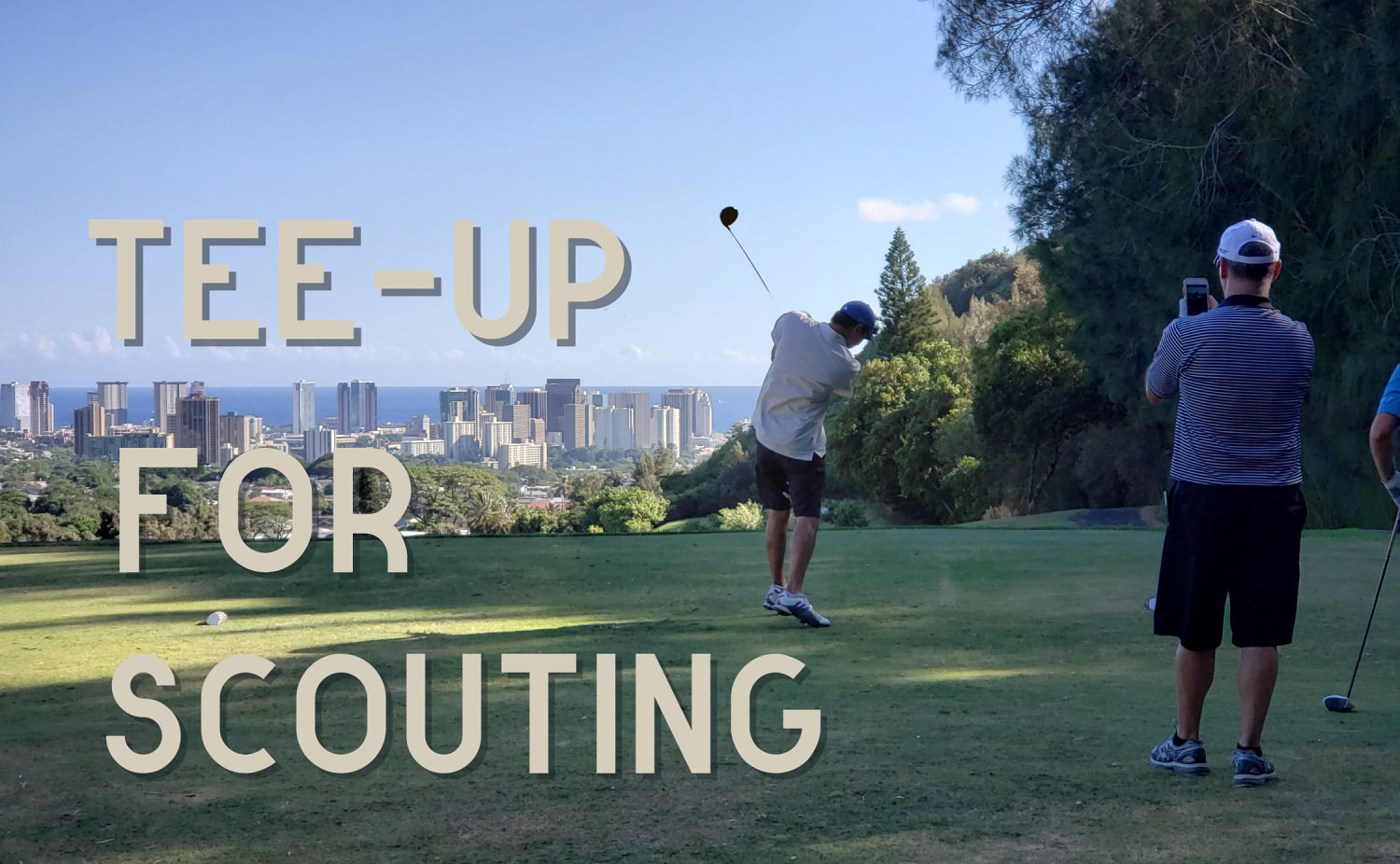 Tee Up for Scouting