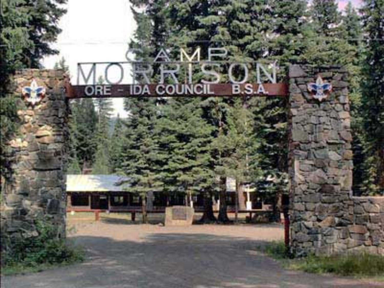Camp Morrison Gateway