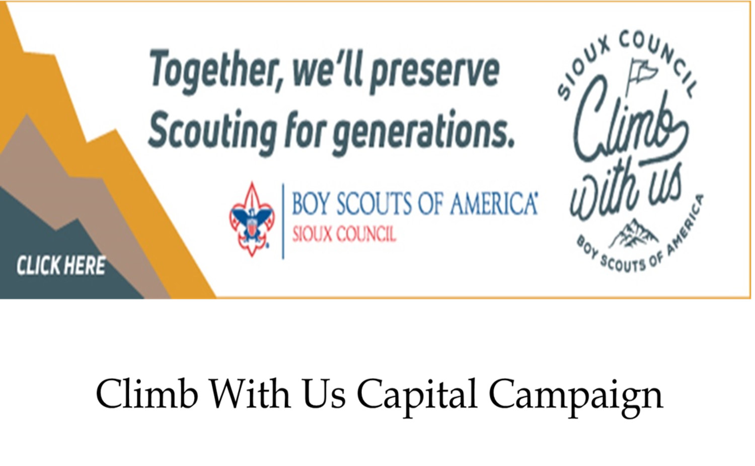 Boy Scouts of America® Sioux Council