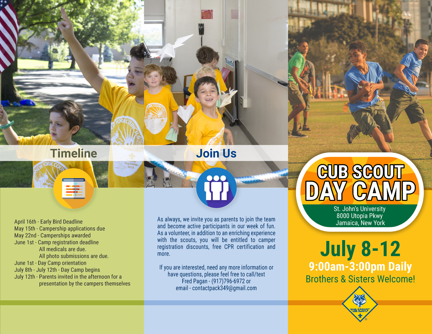 Queens Borough Day Camp | Greater New York Councils