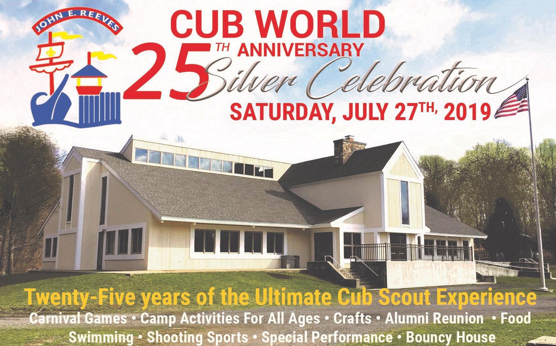 John E  Reeves Cub World 25th Anniversary Celebration | Alpine Scout