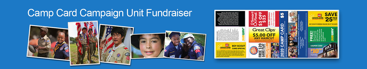 Camp Card Campaign Unit Fundraiser