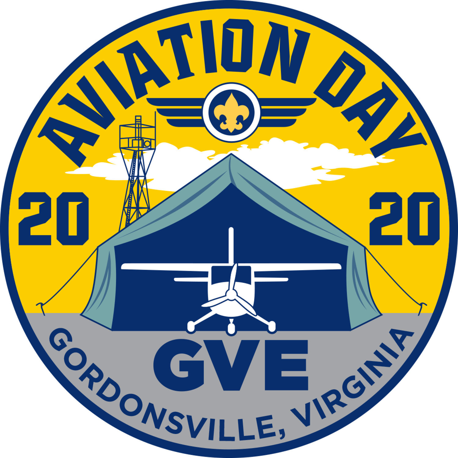 Cub Scout Aviation Day Logo