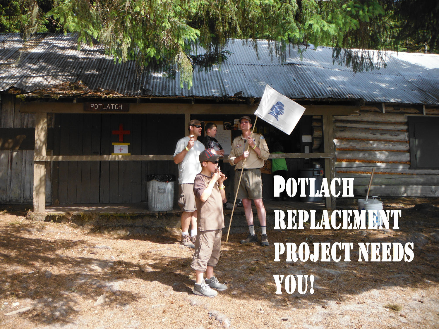 Potlach Building Replacement Project
