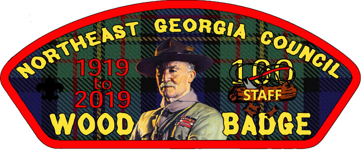 Wood Badge Staff 100th Anniversary Patch