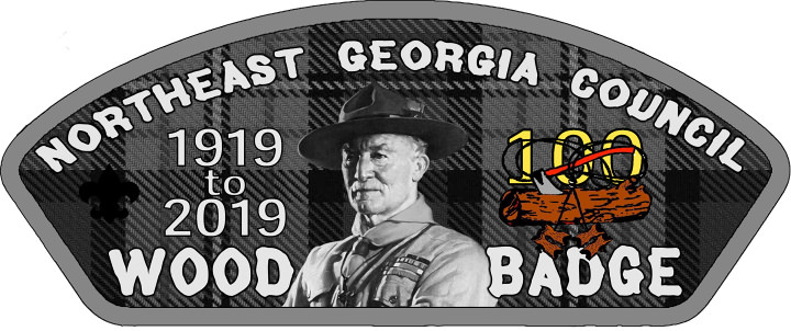 Wood Badge Director 100th Anniversary Patch
