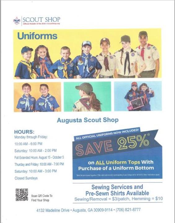 Augusta Scout Shop   Georgia-Carolina Council