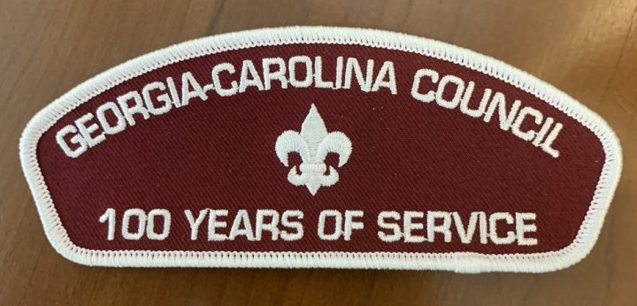 Friends of Scouting Donation Patch - Support Georgia-Carolina Council with a Gift of $25 or More and Receive This Collectible Patch
