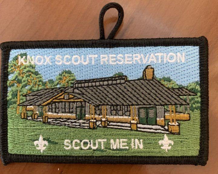 Knox Scout Reservation Dining Hall Capital Campaign Patch