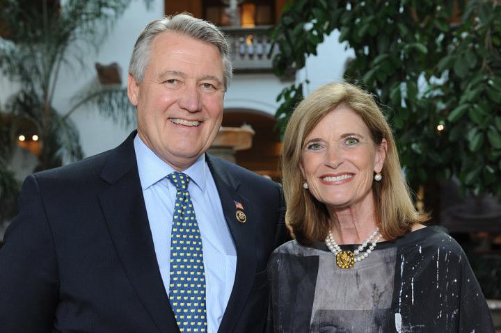 US Representative Rick Allen and his wife Robin